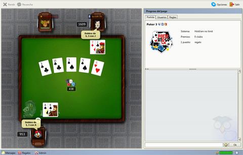 Reglas juegos poker